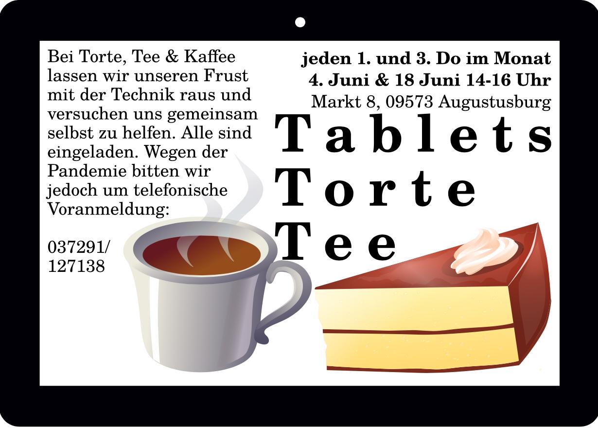 Tablets, Torte, Tee!