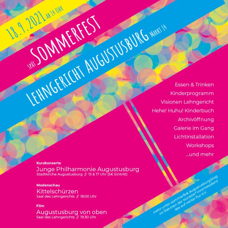 Sommerfest im und ums Lehngericht